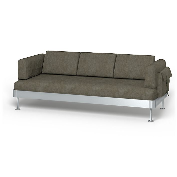 Delaktig, 3 seater sofa cover with pockets - Bemz