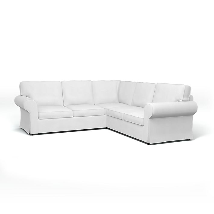 Ektorp Corner Sofa Cover With Piping Bemz