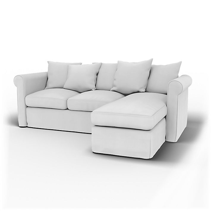 Grönlid, 3 Seater with chaise longue sofa cover - Bemz