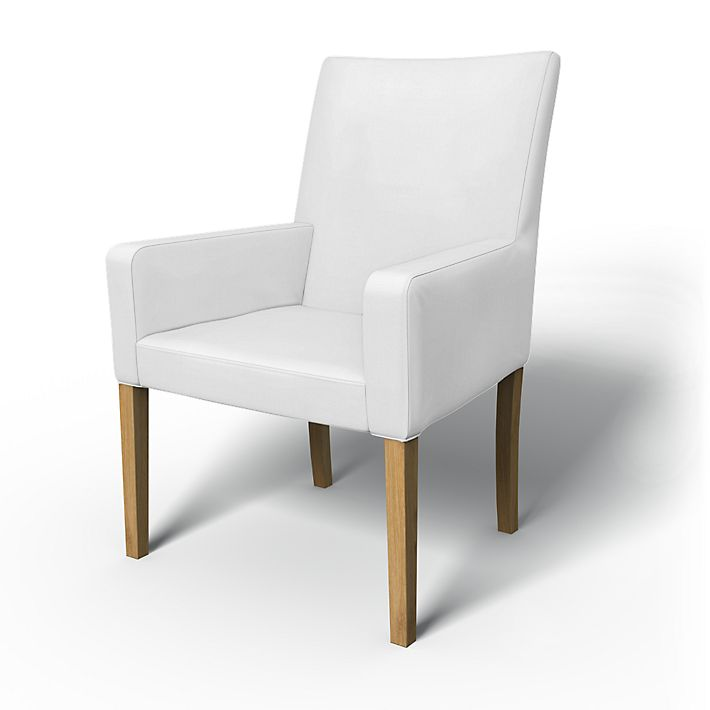 Henriksdal, Chair cover w/ armrests, short - Bemz on