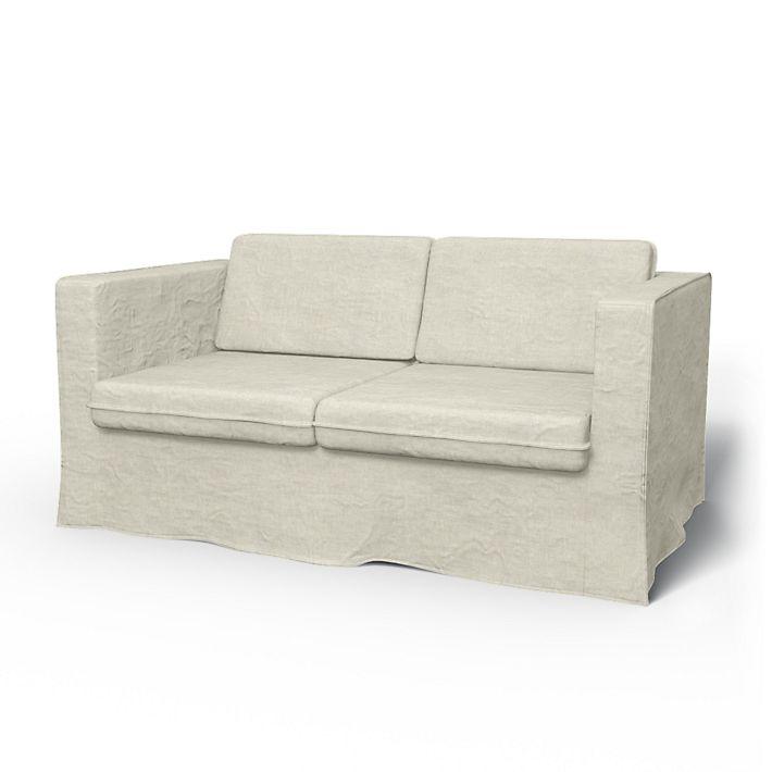 Karlstad Sofa Covers 2 Seater Loose Fit Urban Using The Fabric Brera Lino