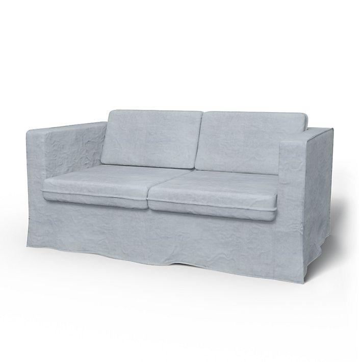 Karlstad, 2 Seater sofa cover Loose Fit - Bemz