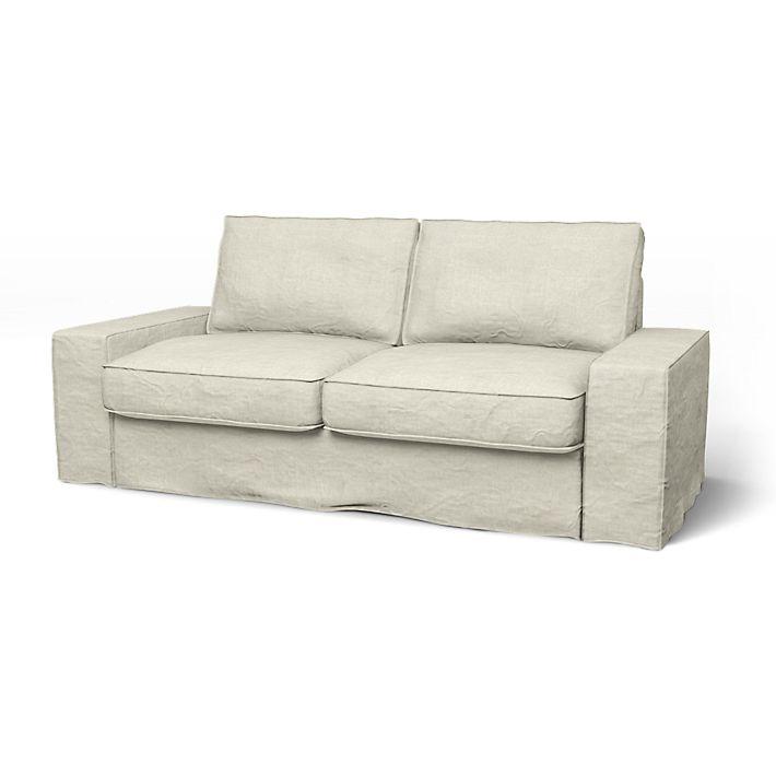 Kivik Sofa Covers 2 Seater Loose Fit Urban Using The Fabric Brera Lino