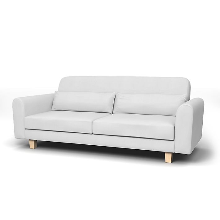 Nikkala Sofa Covers 3 Seater Regular Fit Using The Fabric Simply Cotton Silver