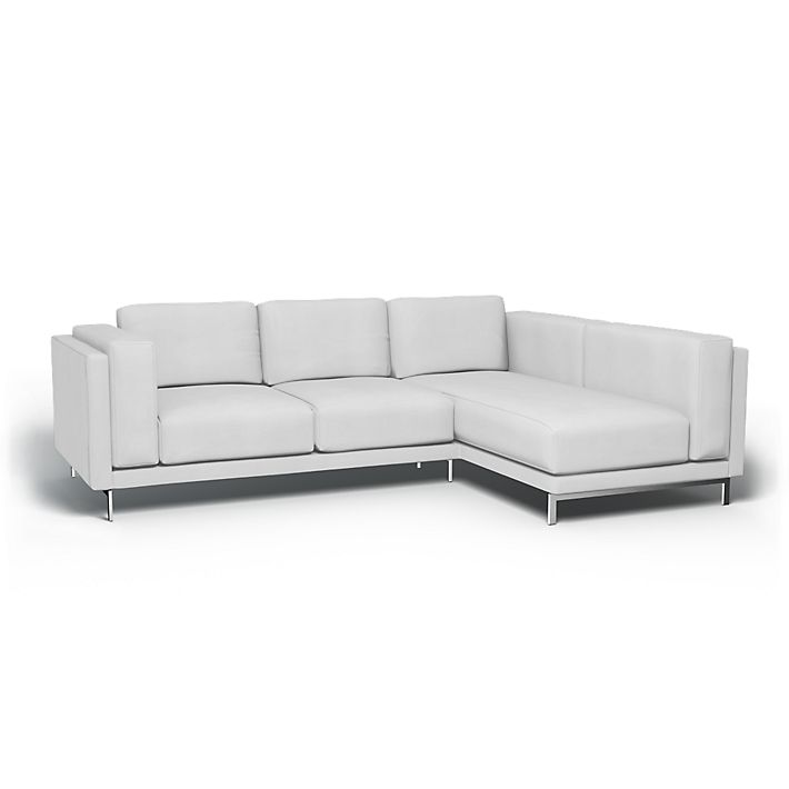 Nockeby Sofa Covers 2 Seater With Chaise Longue Right Regular Fit Using