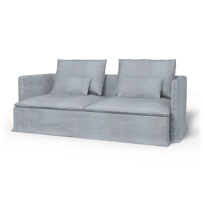 Söderhamn, 3 Seater sofa cover Loose Fit - Bemz