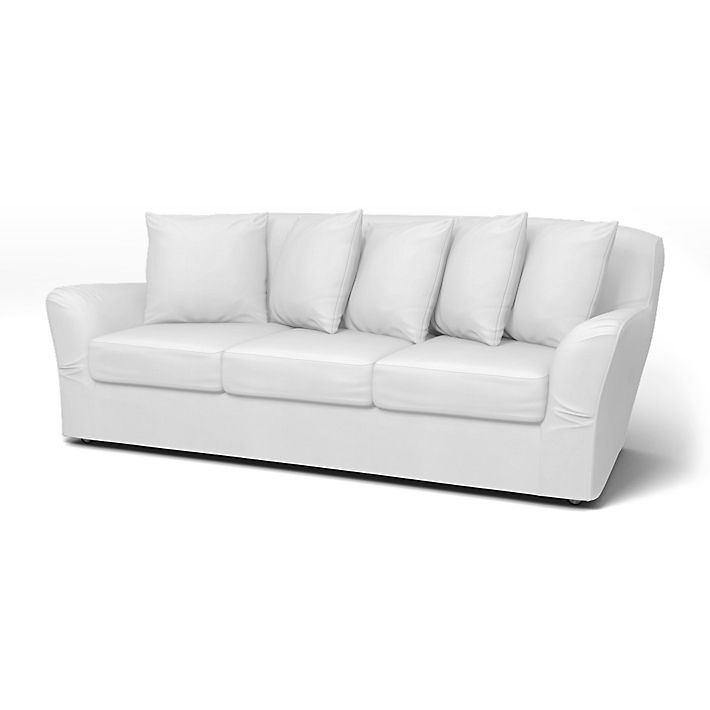 Tomelilla Sofa Covers 3 Seater Regular Fit Using The Fabric Simply Cotton Silver