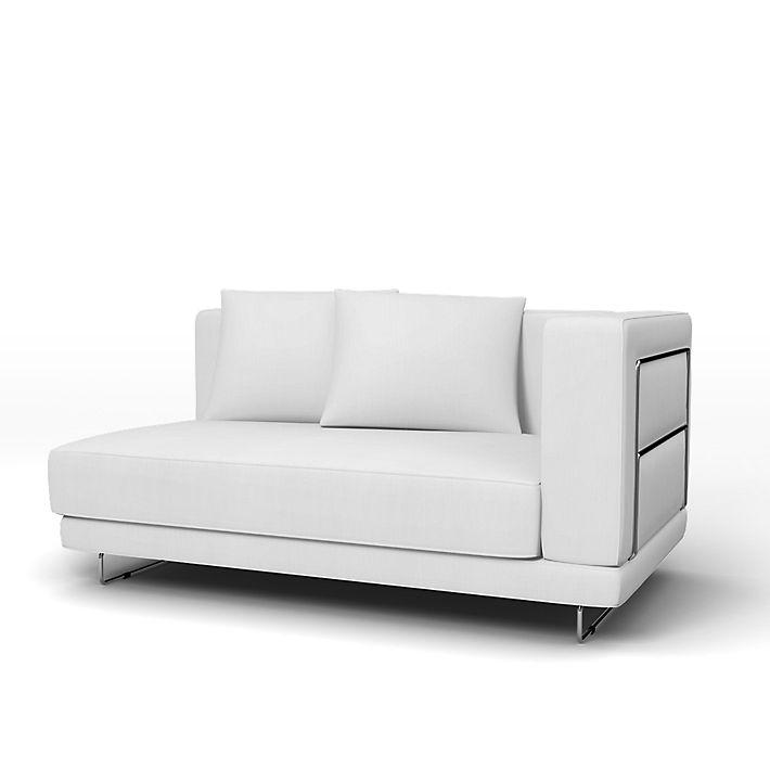 Tylösand, 2 Seater sofa with 1 armrest cover - Bemz