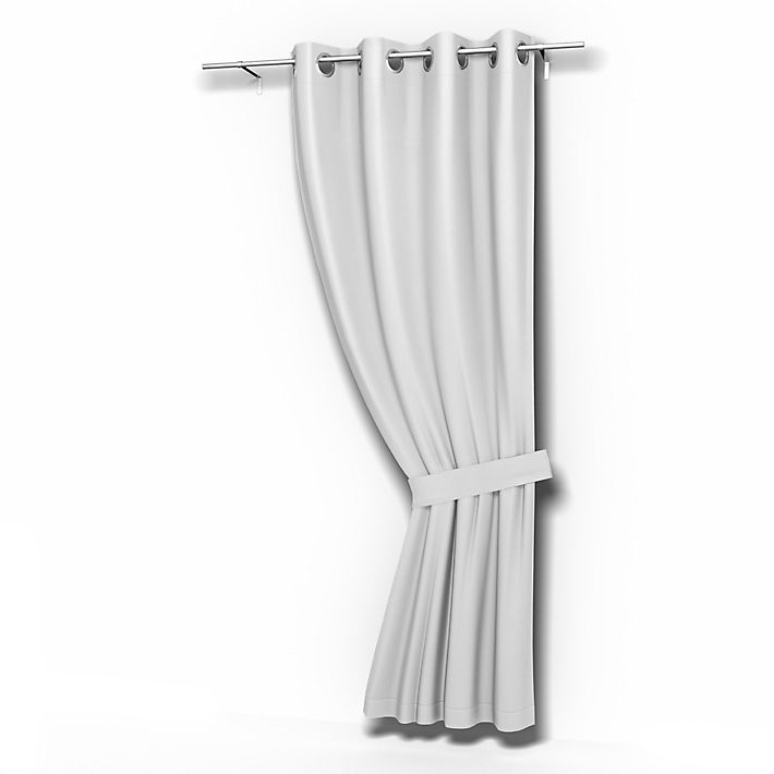 Cortina, Cortinas usando la tela Simply Cotton Silver Grey