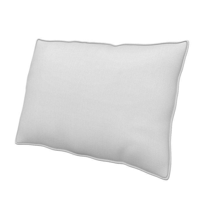 Cushion Cover, Cushion Covers, 50x60 cm, Regular Fit using the fabric Simply Cotton Silver Grey
