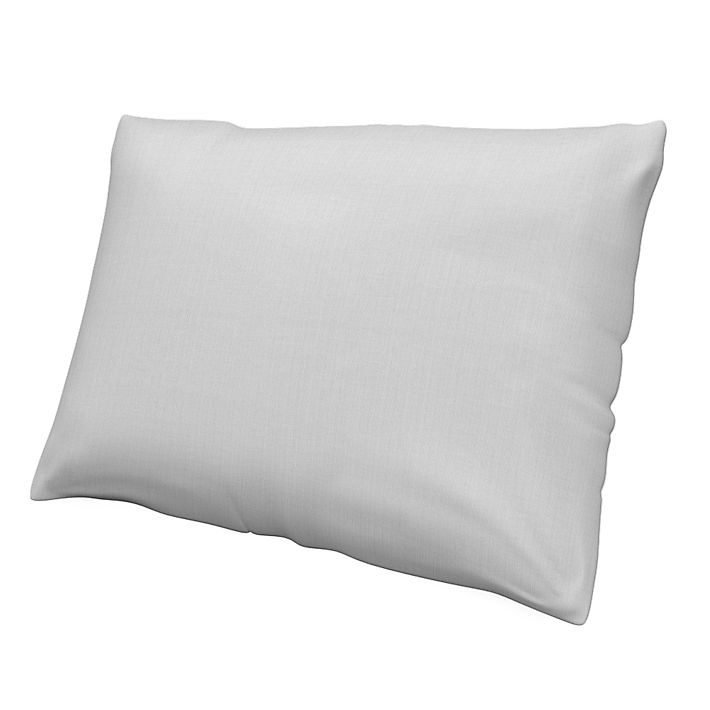 Cushion Cover, Cushion Covers, 50x70 cm, Regular Fit using the fabric Simply Cotton Silver Grey