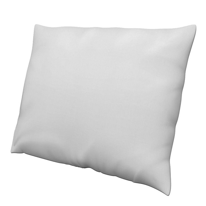 Cushion Cover, Cushion Covers, 60x80 cm, Regular Fit using the fabric Simply Cotton Silver Grey
