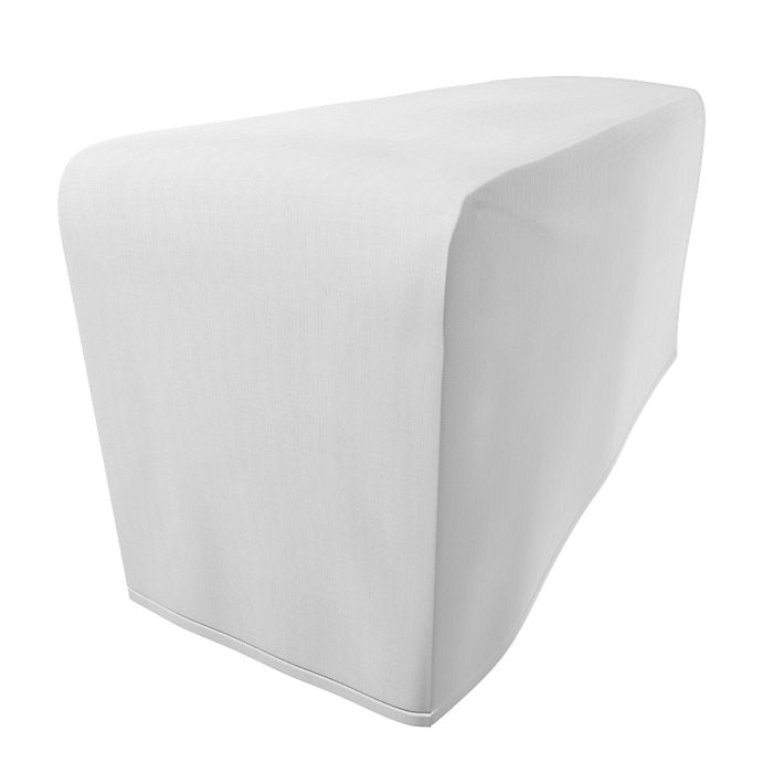 Goteborg, Armrest Protectors, Armrest protectors, Regular Fit using the fabric Simply Cotton Silver Grey