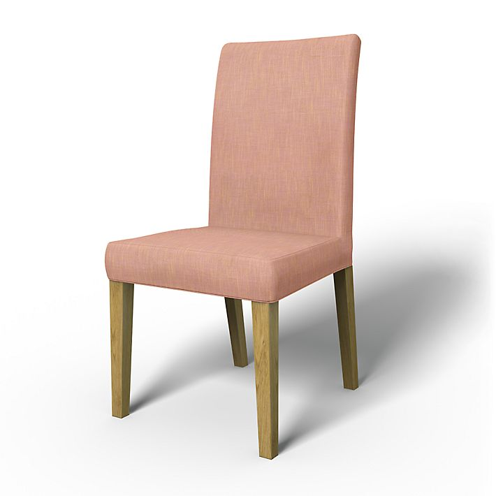 Henriksdal, Chair Covers, Chairs, Regular Fit using the fabric Tegnér Melange  Rose