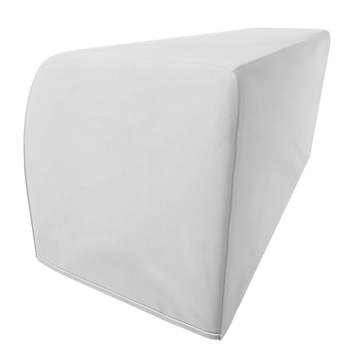 Kramfors, Armrest Protectors, Armrest protectors, Regular Fit using the fabric Simply Cotton Silver Grey