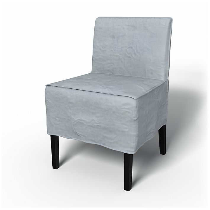 Nils, Chair Covers, Chairs, Loose Fit Urban using the fabric Simply Velvet  Silver Grey