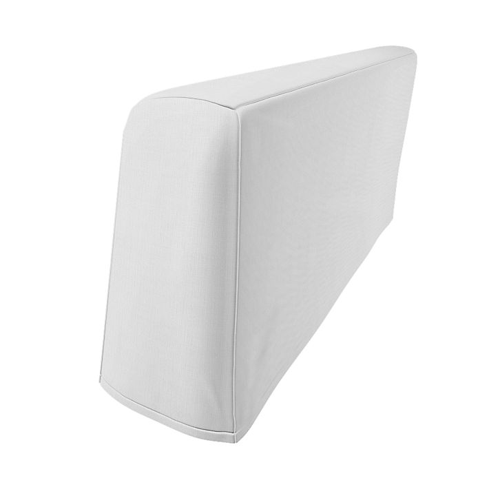 Stockholm, Armrest Protectors, Armrest protectors, Regular Fit using the fabric Simply Cotton Silver Grey